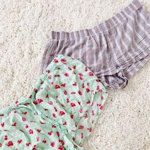 Pants - ⭐️BUNDLE: 2 pj shorts for price of 1